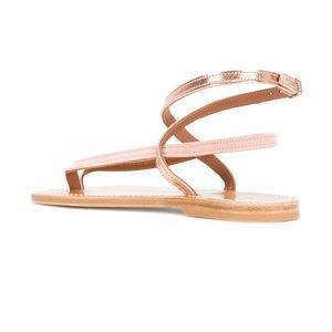 f6933be06557 K. Jacques Shoes - K Jacques Mate Sandal Rose Gold